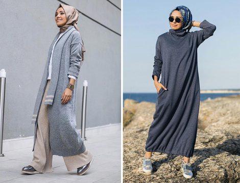 Farklı Tesettür Giyim Stilleri 2018