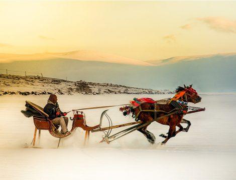 Kars Atlı Kızak Turu