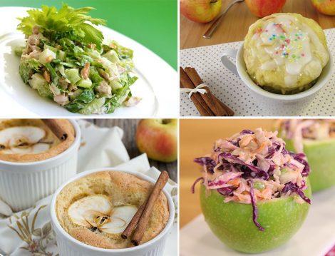 Tatlısından Salatasına Elma İle Yapılan 4 Tarif