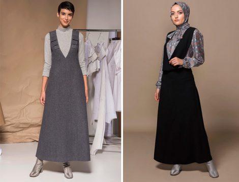 Tesettür Elbise Modelleri 2018