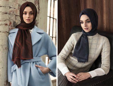 2018 Şal ve Eşarp Bağlama Modelleri
