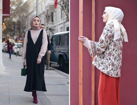 2018 Tesettür Kıyafet Kombinleri