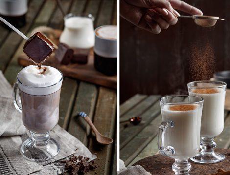 Kışın Keyfi Dumanı Üstünde Gerçek Salep ve Sıcak Çikolata İle Çıkıyor