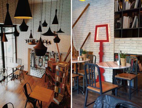 Öğrencilerin En Sevdiği Mekanlar Tasarım Book Shop Cafe