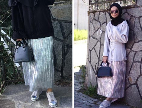 2017-18 Sonbahar Kış Koleksiyonlarının En Güzel Etekleriyle Stil Sahibi Kombinler