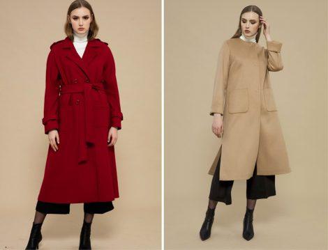 2018 Tesettür Dış Giyim Modelleri
