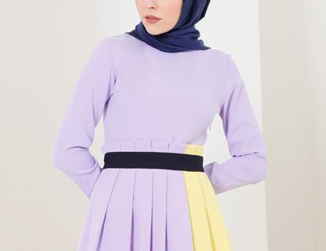 2018'in En Yeni Tesettür Elbise Modelleri ve Fiyatları