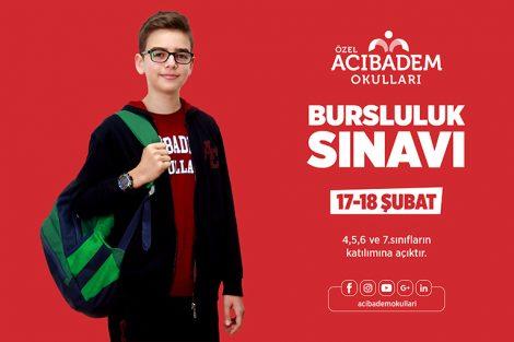 Acibadem Okulları Burs Sınavı 2018