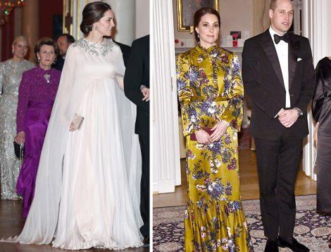 Prenses Kate'in Hamile Hanımlara Örnek Olacak Giyim Stili
