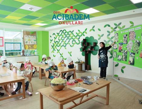 Özel Acıbadem Okulları'ndan Türkiye'de Bir İlk: Probiyotik Beslenme Dersleri
