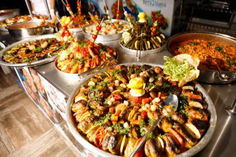 Bera Otel Alanya Yemekler