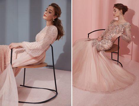 Tiara 2018 Tesettür Abiye Elbise Modelleri