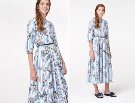 2018 Baharlık Tesettür Giyim Elbise ve Kap Modelleri