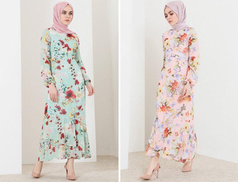 2018 Baharlık Tesettür Giyim Modelleri