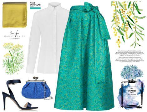 Baharlık Tesettür Giyim Modelleri 2018