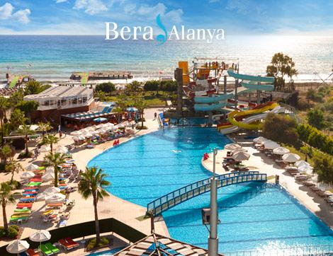 Bera Otel Alanya'da Kadınlara Özel 3500m2'lik Alanda Tatil Keyfi!