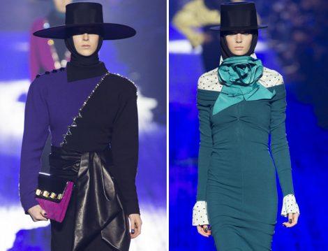 Dünya Moda Markalarının Tesettürlü Defile Görüntüleri