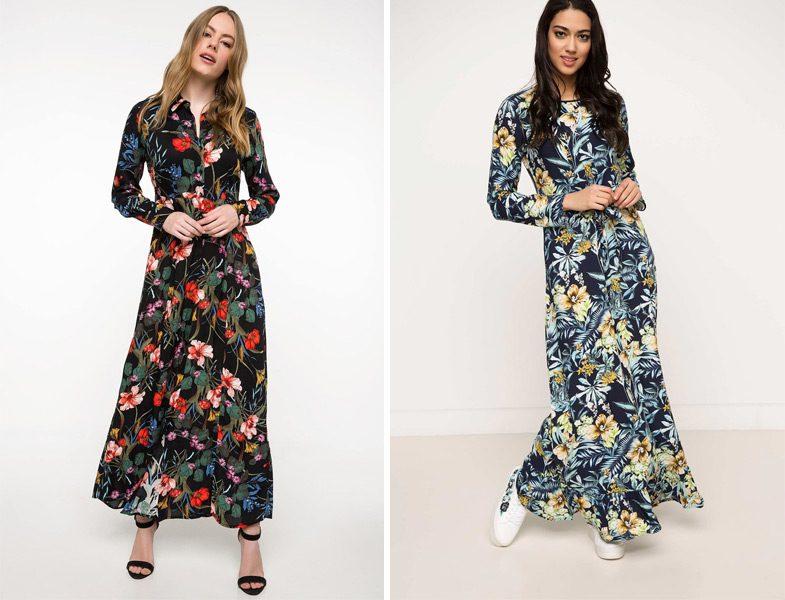 29227f07f84f6 Defacto 2018 İlkbahar Yaz Tunik ve Elbise Modelleri | Resimlerle ...
