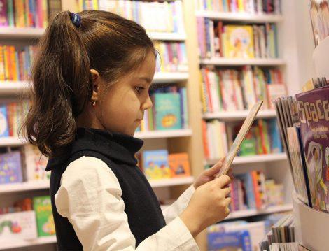 Çocuklar İçin Kitapevi ve Cafe