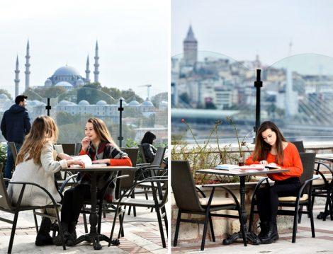 Alkolsüz Mekanlar - İstanbul Kitapçısı Zeyrek Cafe