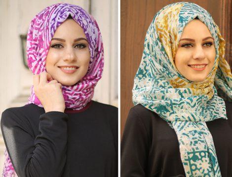 Gençlerin En Çok Tercih Ettiği 5 Şal ve Eşarp Modeli