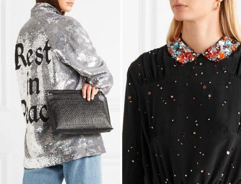 Payet ve pullu Tesettür Giyim Modelleri