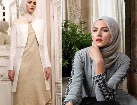 Yabancı Tesettür Giyim Markalarının 2018 Yaz Koleksiyonlarında Öne Çıkan Modeller