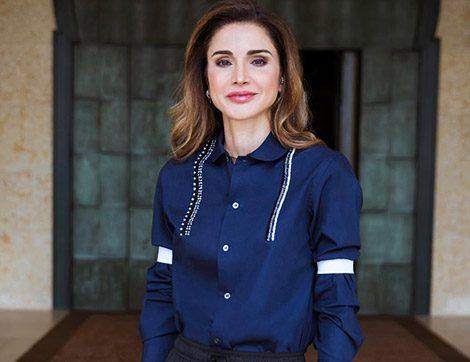 Ürdün Kraliçesi Rania el Abdullah'ın Zarif Davet Stilleri