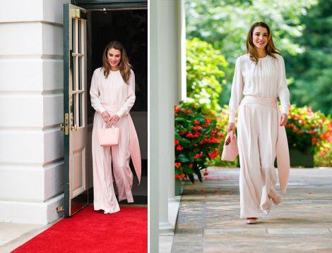 Ürdün Kraliçesi Rania el Abdullah Pudra Tulum