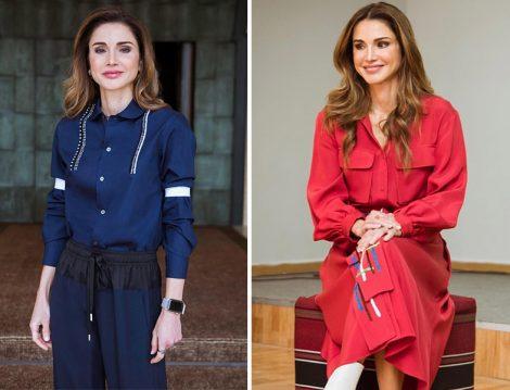 Ürdün Kraliçesi Rania el Abdullah Gömlek Modelleri