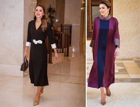 Ürdün Kraliçesi Rania el Abdullah Kaftan ve Elbiseleri