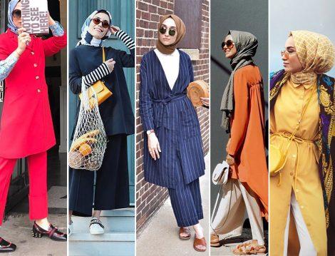 İnstagram Moda Hesaplarının Tesettür Yaz Kombinleri