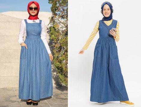 Kot Jile/Salopet Elbise Modelleri