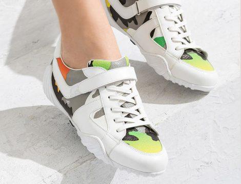 Elle Shoes Beyaz Kadın Ayakkabı