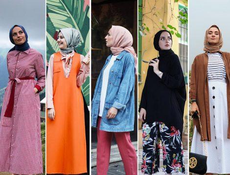 2018 Yaz Tesettür Giyim Kombninleri