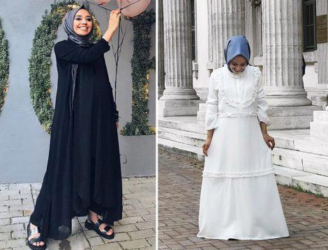 Hülya Aslan Tesettür Elbise Kombinleri