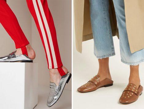 Isabel Marant Feenie Studded Convertible Loafer Modeli