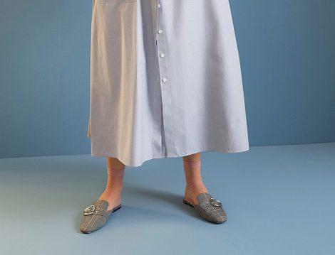 Kareli Desen Bayan Terlik Modelleri