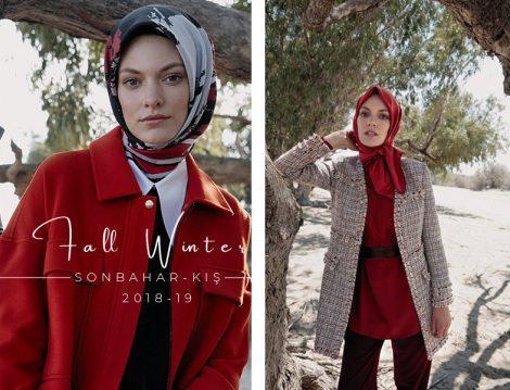 Kayra 2018 2019 Sonbahar Kış Tesettür Koleksiyonu