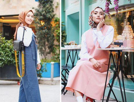 Rimel Aşkına Hilal'den 20'li Yaşlar İçin Salopet Elbise ve Tulum Kombinleri