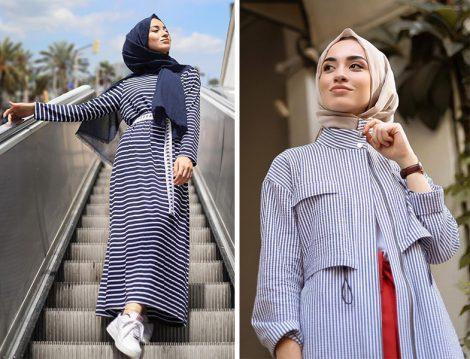 Sena Sever'den 20'li Yaşlar İçin Çizgili Kıyafet Kombinleri