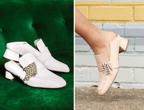Stuart Weitzman Markasından Irises Loafer Ayakkabı Modeli