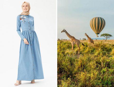 Tatilde Giyilebilecek Elbise Modelleri 2018
