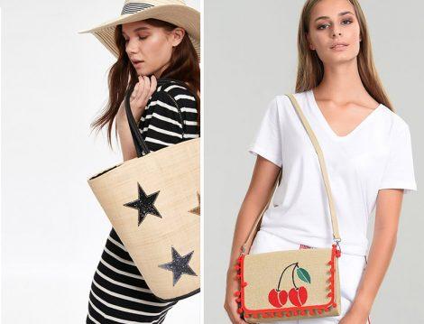 Yaz Tatili İçin Hasır Çanta Modelleri