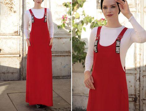 Yazlık Uzun Tesettür Elbiseler