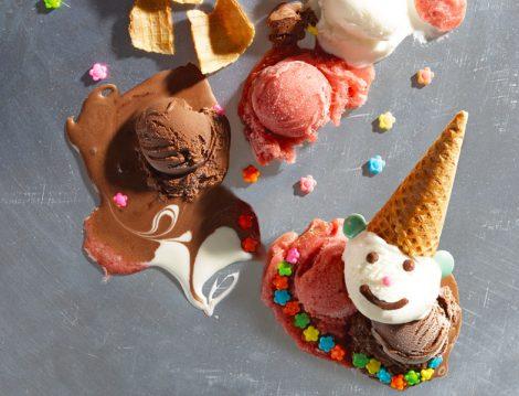 Çikolatalı ve Kaymaklı Dondurma
