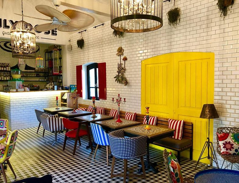 Artisan Kitchen & Kalyan Cafe Restaurant İç Dekorasyonu