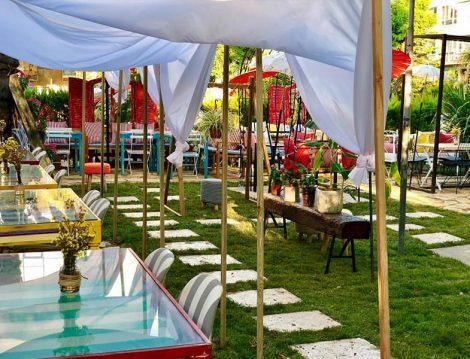 Artisan Kitchen & Kalyan Cafe Restaurant Bahçe Dekorasyonu
