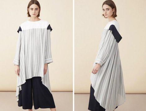 Baqa Official Siyah Beyaz Tunik Modelleri