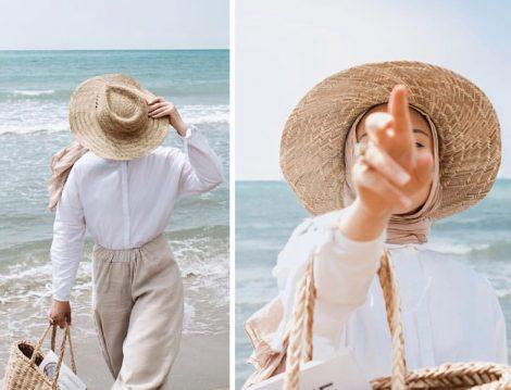 Hasır Şapka Modası